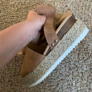 Shoes - ❕ NWOB Thick Espadrille Sandals | 6